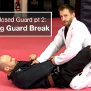 Breaking Closed Guard with Sleeve Grip
