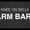 Arm Bars from Knee on Belly
