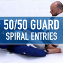 Spiral Entries to the 50/50 Guard