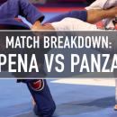 Match Breakdown: Pena vs Panza