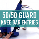 Knee Bar Entries // 50/50 Entries