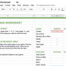 Game Analysis Worksheet