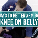 Knee On Belly Arm Bars // 30 Days To Better Arm Bars