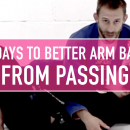 Arm Bars From Passing // 30 Days To Better Arm Bars
