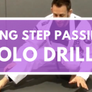 Long Step Passing Solo Drills