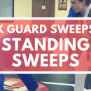 Standing Sweeps // X Guard (DMA 2018)