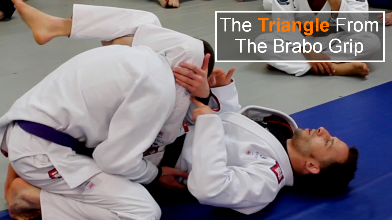 Triangle from Brabo Grip for Brazilian Jiu Jitsu