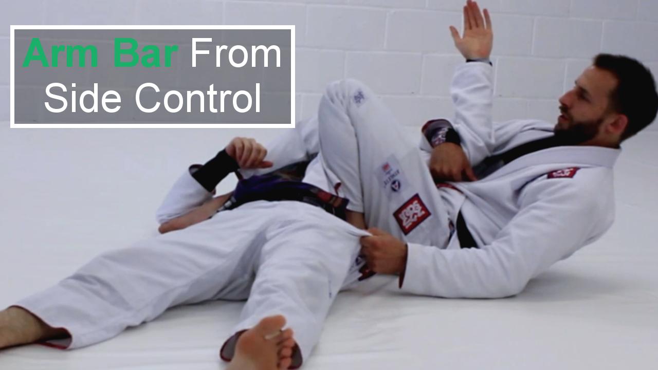 Arm Bar From Side Control for Brazilian Jiu Jitsu
