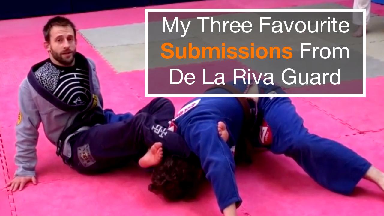 My Three Favourite De La Riva Submissions