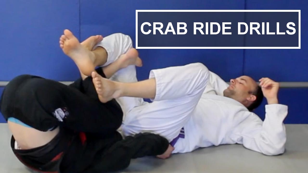 crab ride drills for jiu jitsu