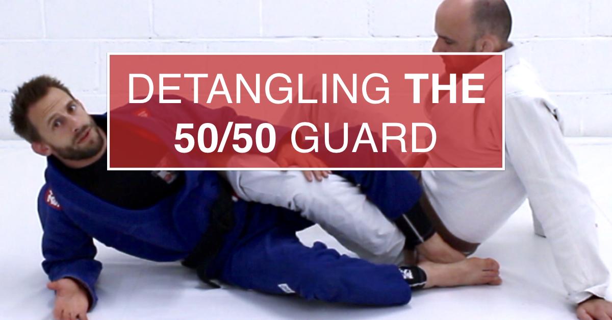 Detangling The 50/50 Guard in Brazilian Jiu Jitsu