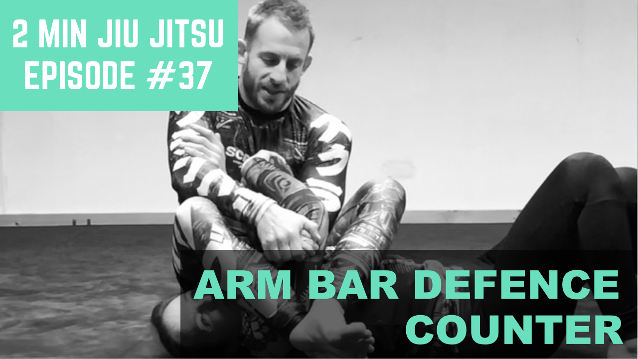 2 Minute Jiu Jitsu Ep.37: High Percentage Arm Bar Defence Counter
