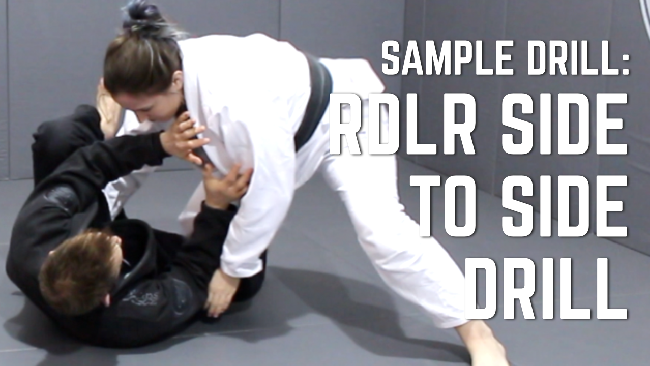 Beginner's BJJ Curriculum Sample Drill: RDLR Side To Side Drill