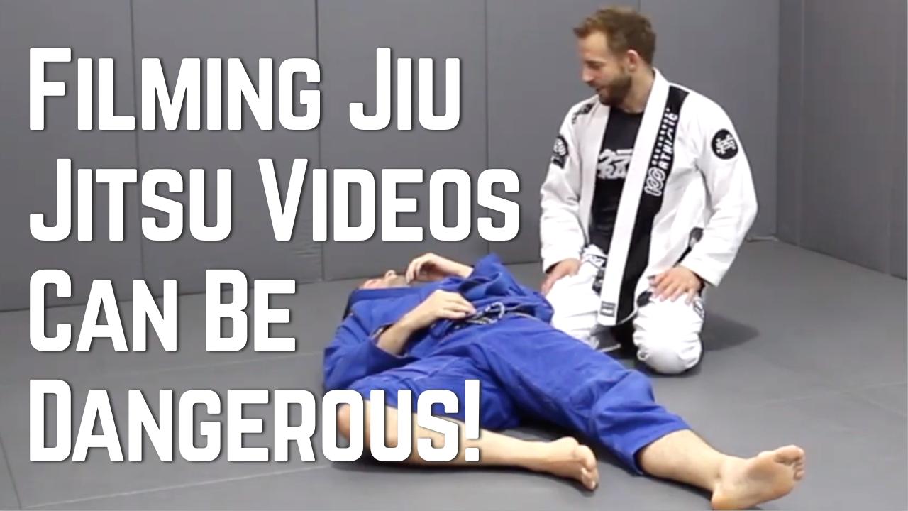 Filming Jiu Jitsu Videos Can Be Dangerous!