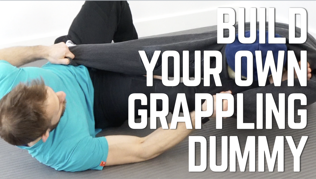Build your own grappling dummy in less than 10 minutes