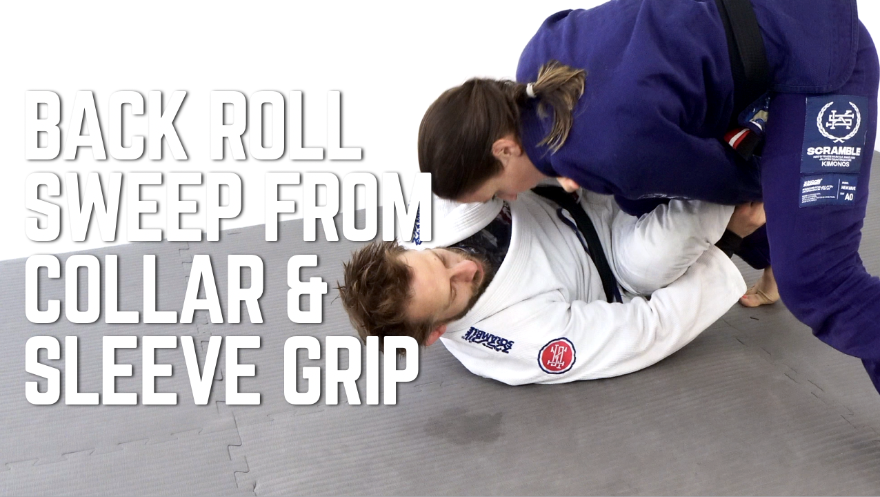Back Roll Sweep From Collar & Sleeve Grip
