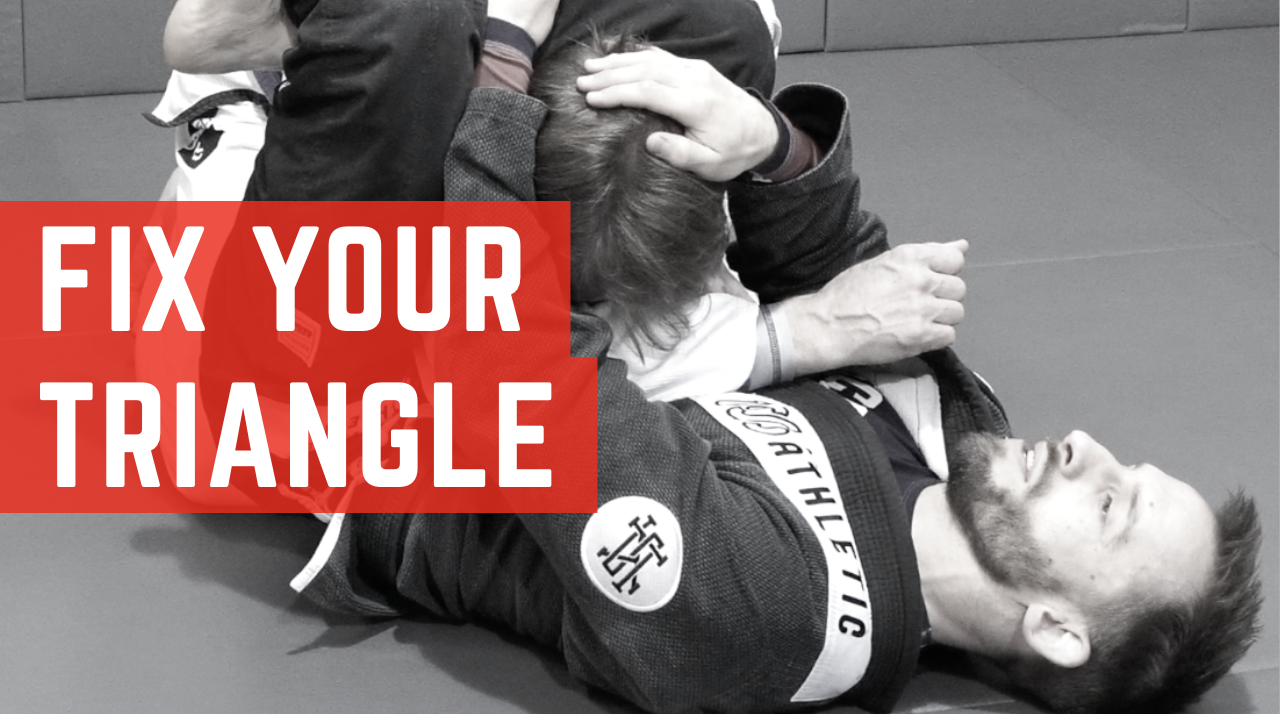 Fix Your Triangle - Make your triangle freakishly tight even if you have legs as short as mine!