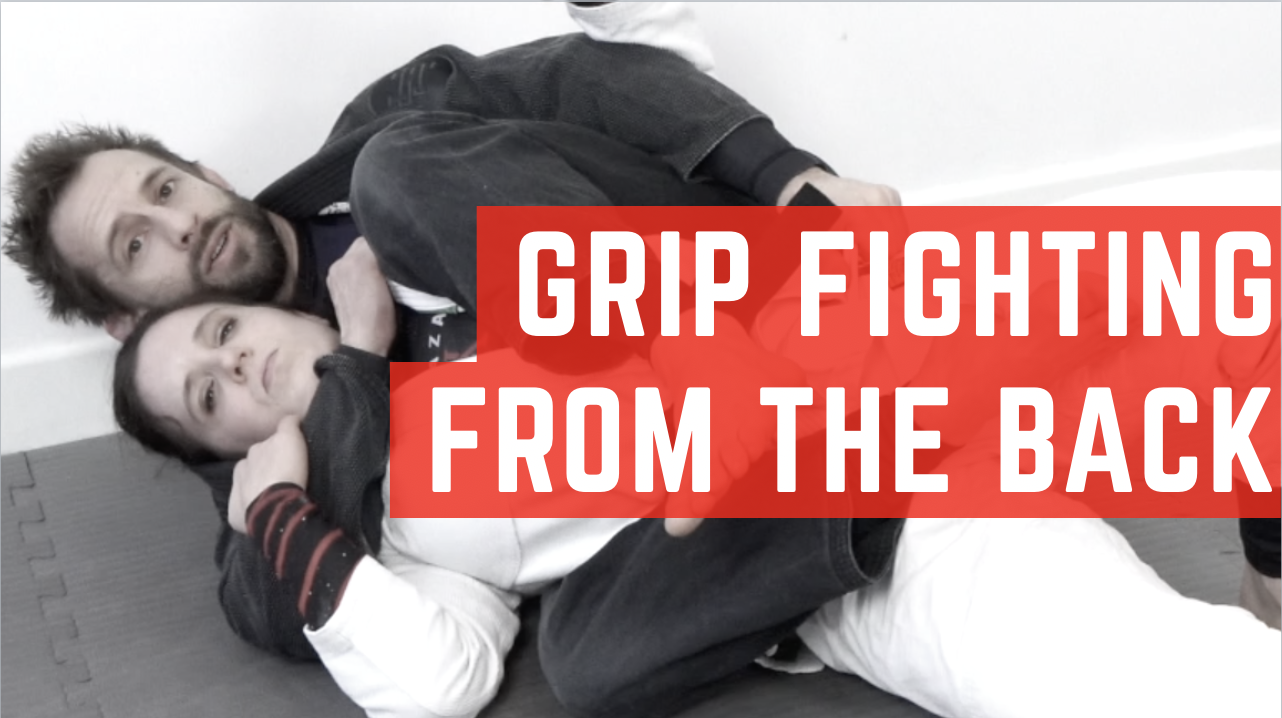 Grip Fighting From The Back